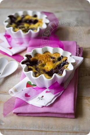 Les petits plats de trinidad gratin de fruits rouges aux amandes - Gratin de fruits rouges ...