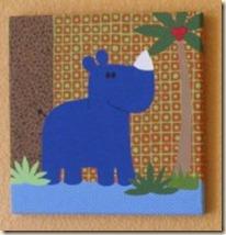 Rhino painting