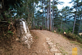 The Path to Sagada's Cavalry Hill