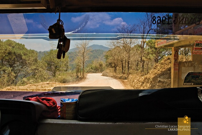 The Dusty Sagada Road