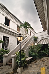 One of the Many Courtyards in Plaza San Luis in Intramuros, Manila