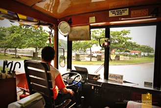 Our Tranvia Driver at Corregidor