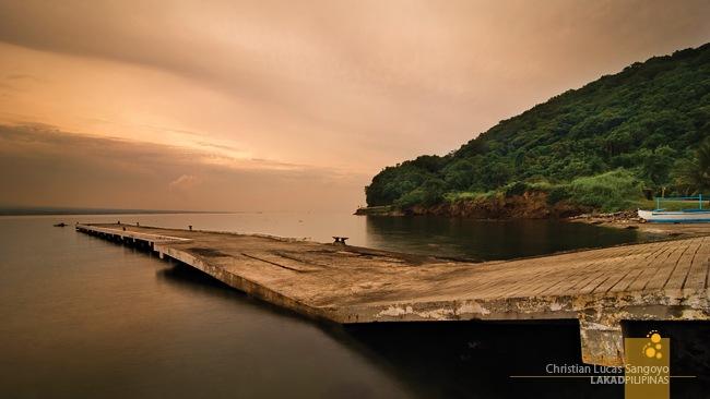Sunrise at the Corregidor's Lorcha Dock