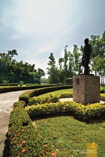 The President Sergio Osmeña Park in Corregidor