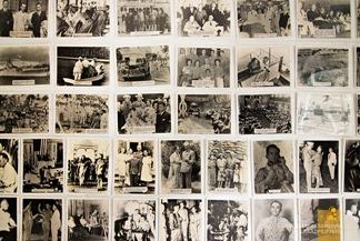 Photographs  of President Manuel L. Quezon at the Corregidor Museum