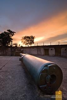 Disappearing Gun Barrel at Corregidor