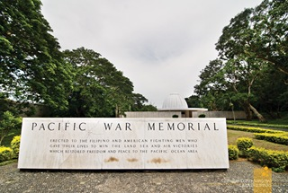 Corregidor's Pacific War Memorial Marker