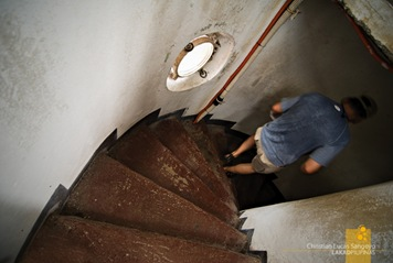Spiral Staircase at Corregidor's Lighthouse