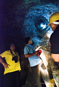 Vents That Fill Corregidor's Malinta Tunnels with Air