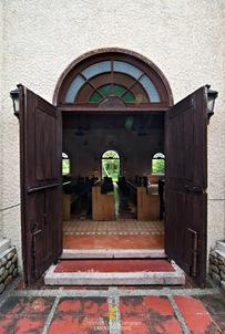 Corregidor Chapel's Side Entrance