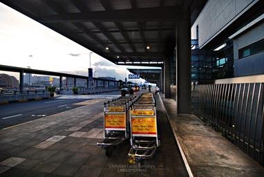 Breaking Dawn Outside NAIA Terminal III