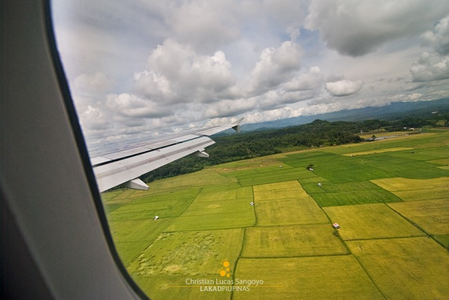 Touching Down at Iloilo Airport