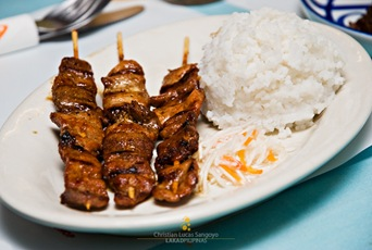 Pork Barbeque (P120.00) at Liliw's Café Arabela