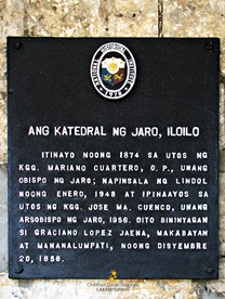 Jaro Cathedral's Historical Marker