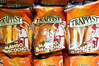 Mango Biscocho at Trappist Monastery