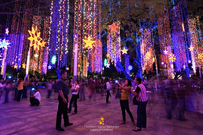 Ayala Triangle Garden's Symphony of Parols