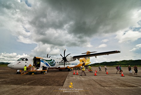 Dark Clouds at Busuanga Airport