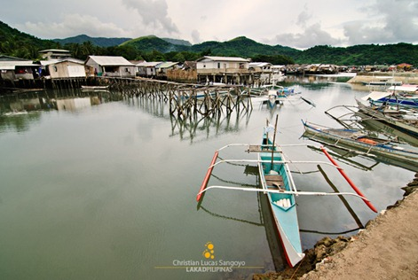 A Typical Fishing Village in Coron