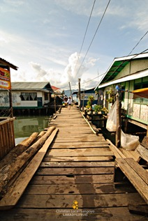 The Fore Part of Coron's Lambingan Bridge