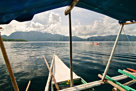 From the Boat Docked at Coron&#39;s Lambingan Bridge