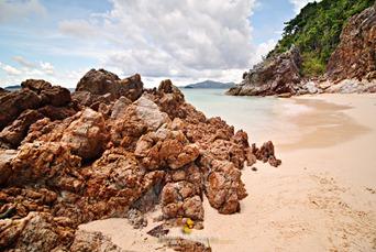 Interesting Formations at Malcapuya Island