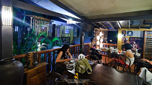 The Nook Overlooking the Lodge at Coron Village Lodge