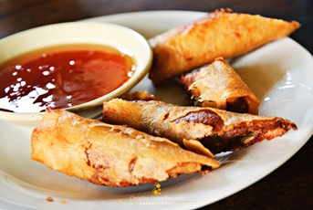 Lumpiang Shanghai at Sweet Greens Deli Café