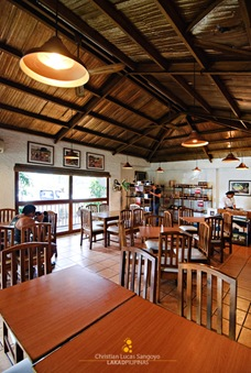 The resto&#39;s well designed interiors