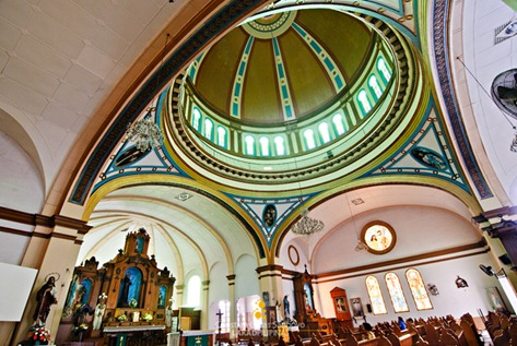 The Majestic Dome of the San Diego Cathedral in Silay City