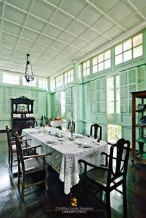 The Dining Area of Bernardino Jalandoni Museum in Silay City