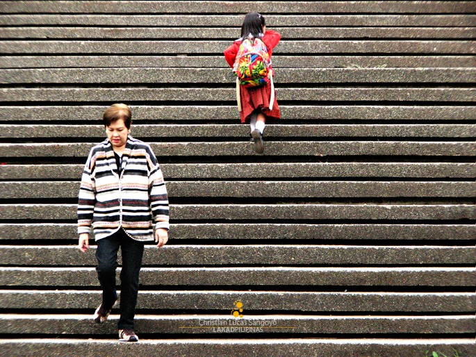 Burnham Park Stairs