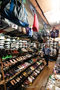 Shoes and Bags at Baguio Ukay Ukay