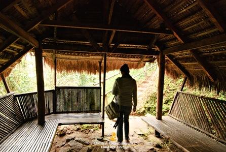 Resting Hut at Tam-Awan Village in Baguio