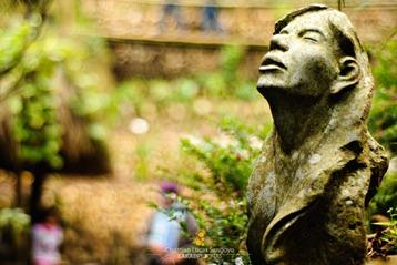 Concrete Sculpture at Tam-Awan Village, Baguio City