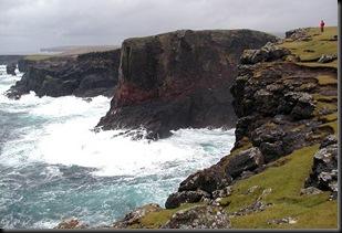 soctland cliffs