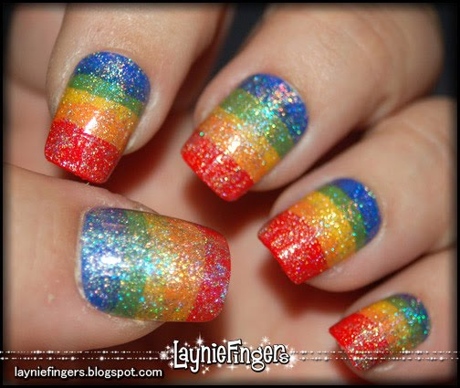 Pride Nail Designs: Layniefingers: My Nail Tips Are On Etsy