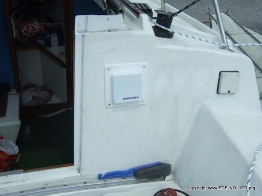 L'afficheur M310 Northstar dans le cockpit de l'edel 4