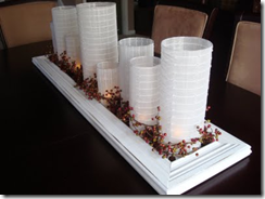 mirror centerpiece