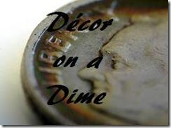 Decor on a Dime button