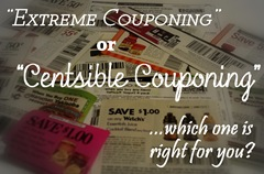 centsible couponing button
