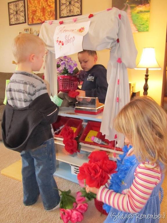 Flower Shop Dramatic Play