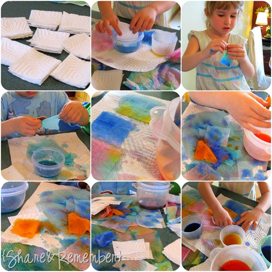 art with liquid watercolors