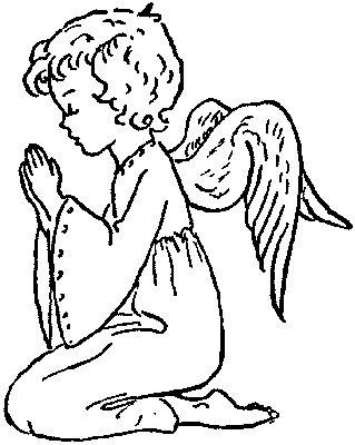 angeles colorear (10)