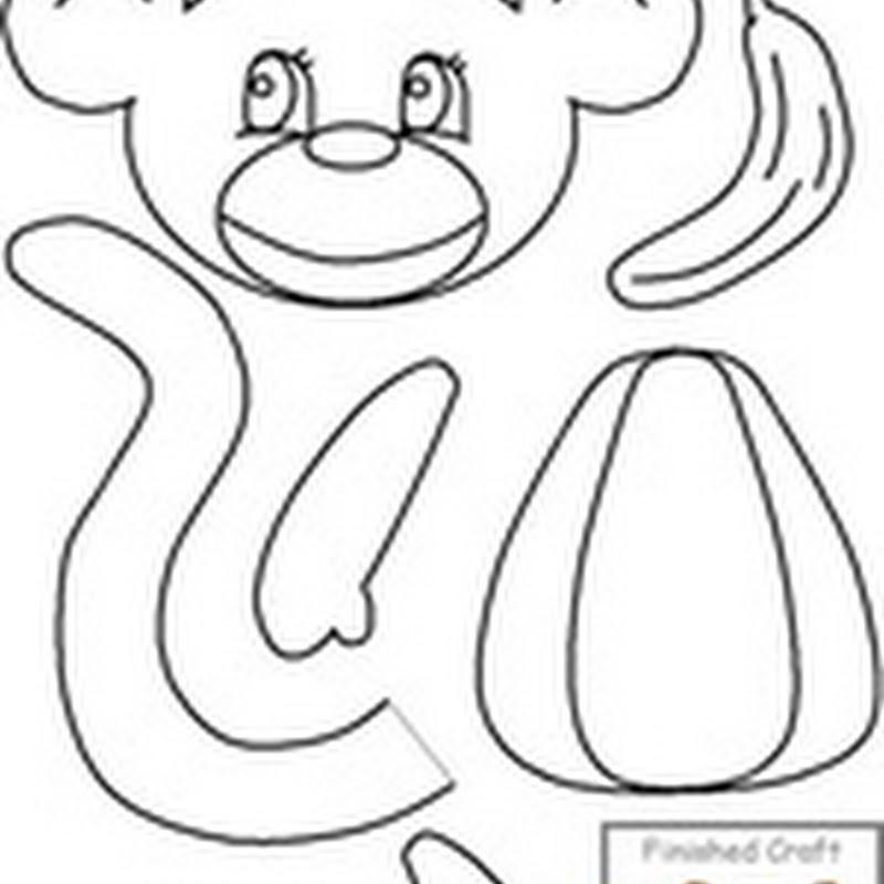 Dibujos animales colorear, recortar y montar