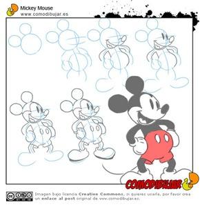 como-dibujar-mickey
