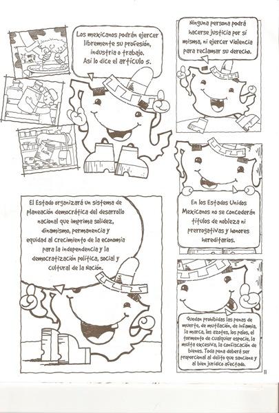 Dibujos Para Colorear Del 5 De Febrero - Dibujos Para Dibujar