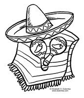 colorear mexico fiesta (2)