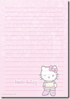 papel carta hello kitty blogcolorear (15)