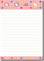papel carta hello kitty blogcolorear (9)