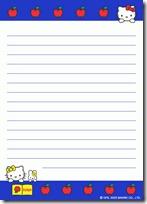 papel carta hello kitty blogcolorear (6)